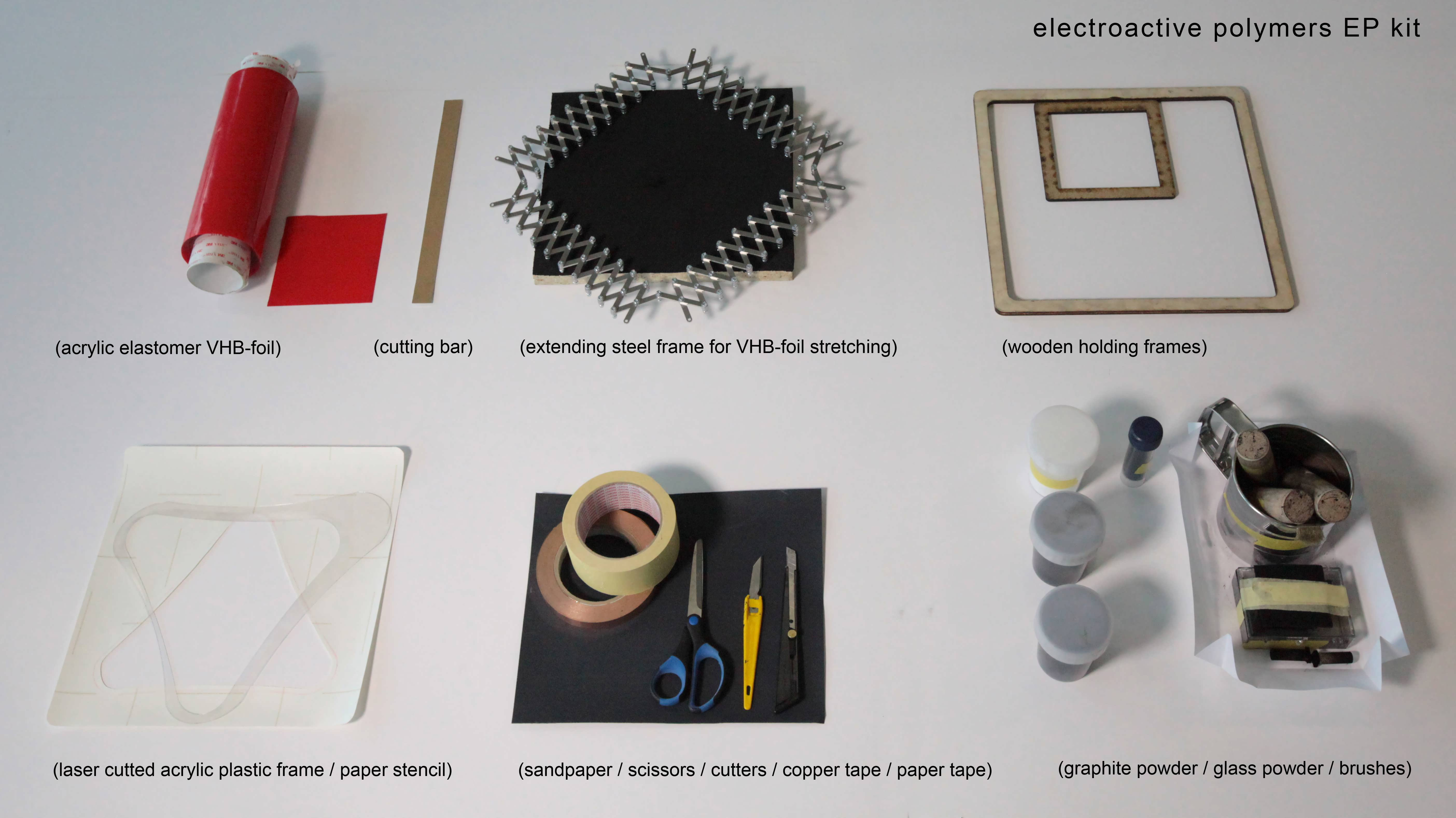 Электроактивный полимер своими руками